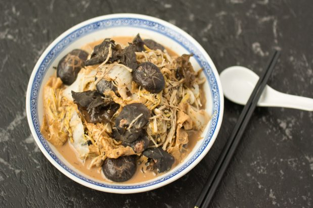 Mixed Vegetables with Fermented Beancurd (Chai Choy)