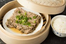Steamed Minced Pork with Preserved Mustard Greens