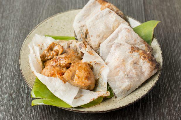 Paper Wrap Chicken (Chee Pow Kai)
