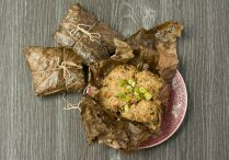 Lotus Leaf Wrapped Sticky Rice (Hor Yip Fan)