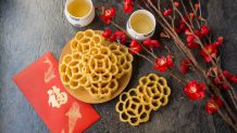 Beehive Cookies (Kuih Rose/ Kuih Loyang)