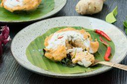 Steamed Thai Fish Curry Custard (Hor Mok)