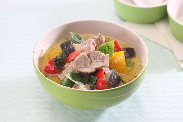Green Curry With Roast Pork (Gaeng Keow Wan Mu Yang)