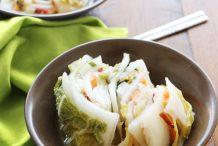 White (Baek) Kimchi