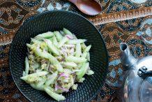 Spicy Cucumber Salad (Kerabu Timun)