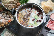 chinese food - sichuan hot pot
