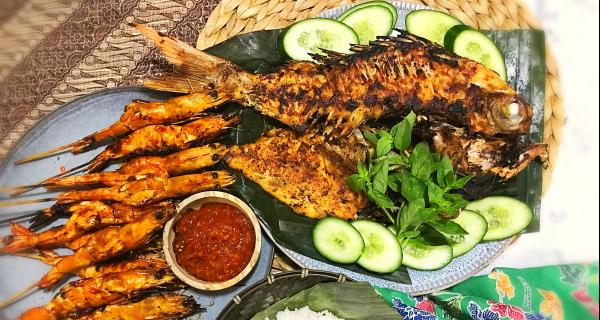 Bali Jimbaran Style Ikan Bakar