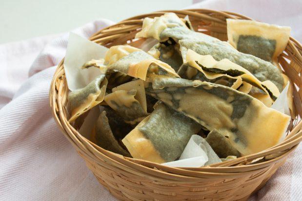 Crispy Seaweed Crackers