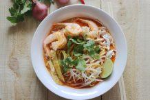 sarawak laksa recipe by Asian Inspirations