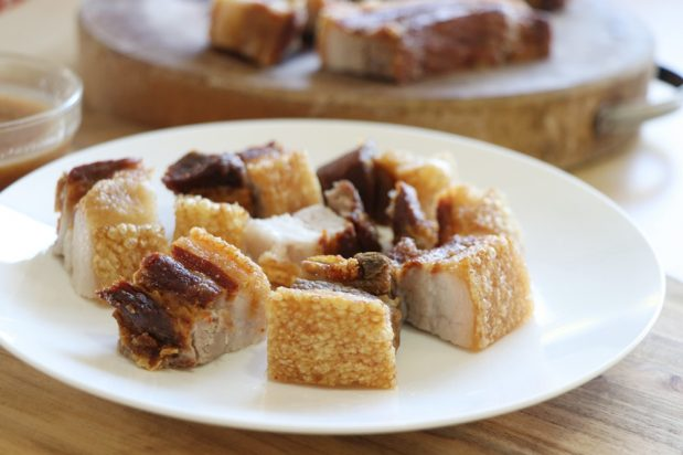 Filipino Crispy Pork Belly (Lechon Kawali)