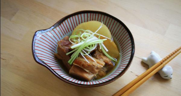 Braised Pork Belly (Kakuni)