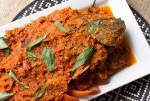 Malaysian Nyonya Style Deep Fried Whole Fish