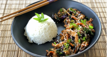Cantonese Stir Fry Chicken