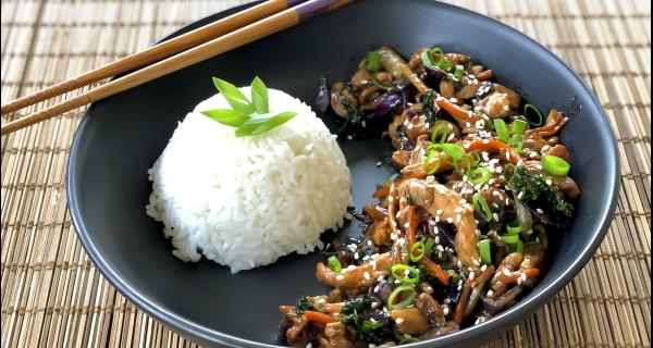 Cantonese Stir Fry Chicken