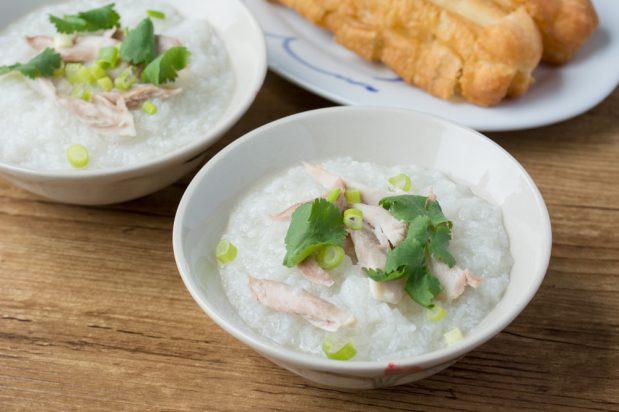 Vietnamese Chicken Congee (Chao Ga)