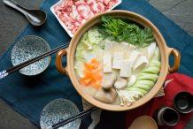 Japanese Soy Milk Hot Pot (Tonyu Nabe)