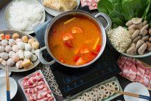 Vietnamese Style Tom Yum Hot Pot (Lau Thai)