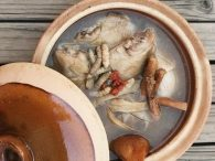 Cordyceps Ginseng Chicken Herbal Soup