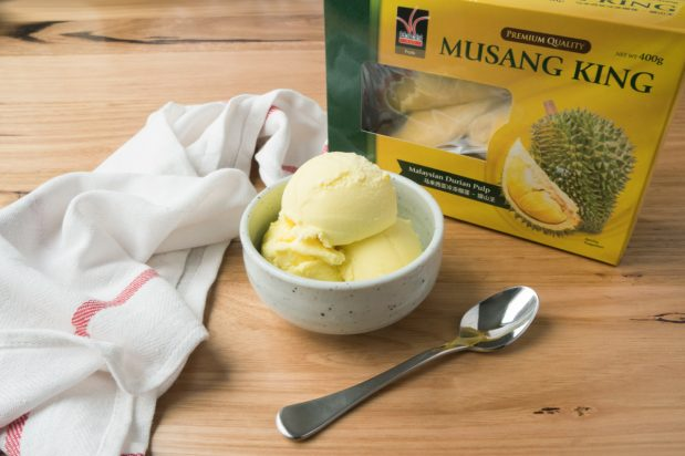 Egg-Free Durian Ice Cream