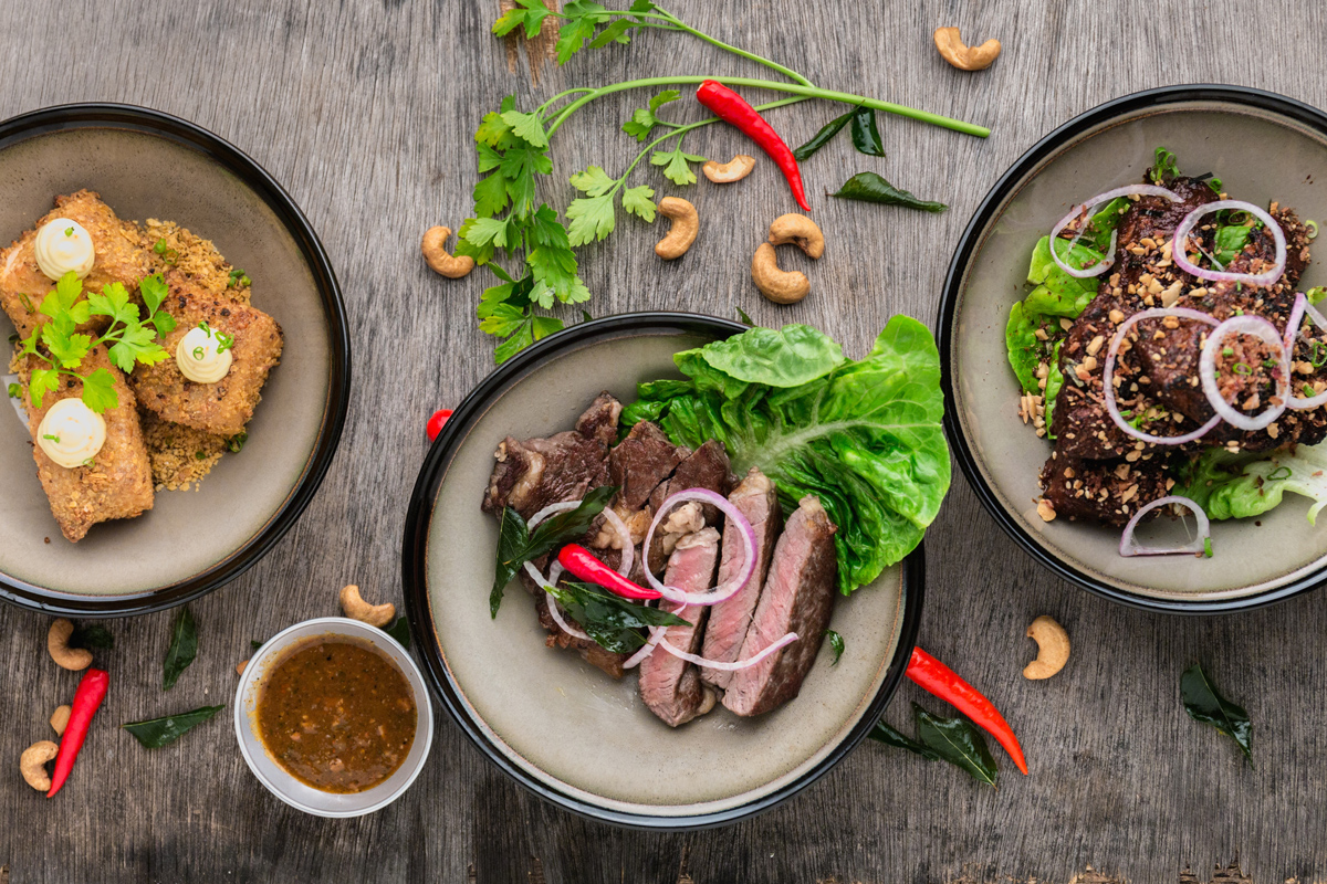 Pictures of Asian Food Presentation Ideas