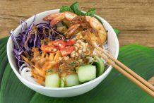 Vietnamese Prawn Bowl