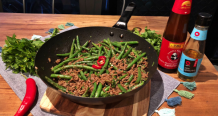 Sticky Beef Stir-Fry