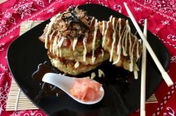 Belinda's Crispy Pork Belly Okonomiyaki (Japanese Pancakes)