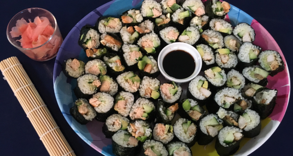 Teriyaki Tofu Sushi
