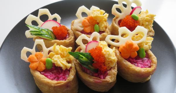 Vegie Inari Sushi