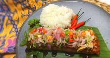 Grilled Barramundi Fish with Sambal Matah