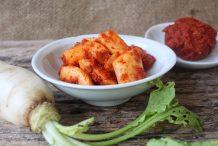 Korean Kimchi Radish (Gak Dugi)
