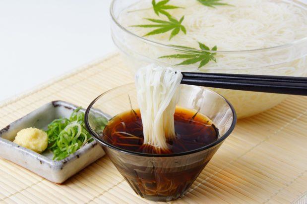 Chilled Somen Noodles