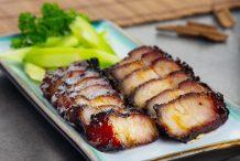 Char Siu Pork Belly Strips