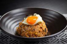 Korean Fried Rice (Kimchi Kibokum Bap)