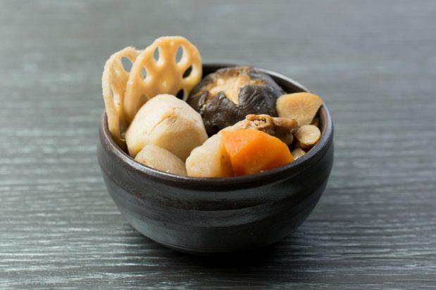 Simmered Chicken and Vegetables (Chikuzenni)