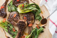 Char Siu Barbecued Lamb Chops