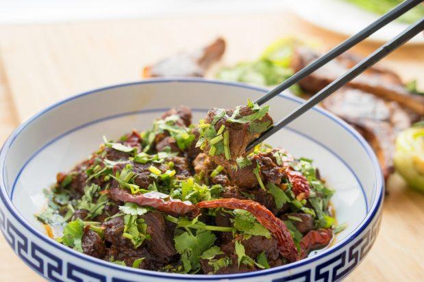 Sichuan Braised Lamb