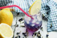 Blue Butterfly Pea Lemonade