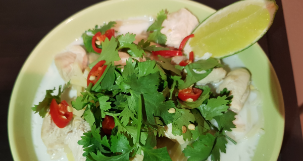 Ginger Poached Chicken