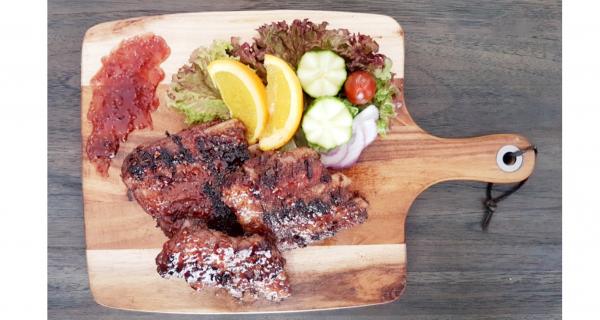 BBQ Raspberry Pork Ribs