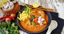 Northern Thailand Curry Noodles (Khao Soi)