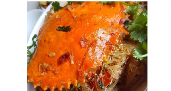 Mud Crab Vermicelli with Home Made XO Sauce