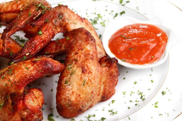 Grilled Laksa Chicken Wings