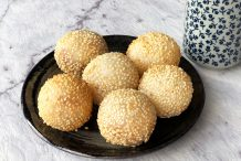 Fried Sesame Balls (Jian Dui)