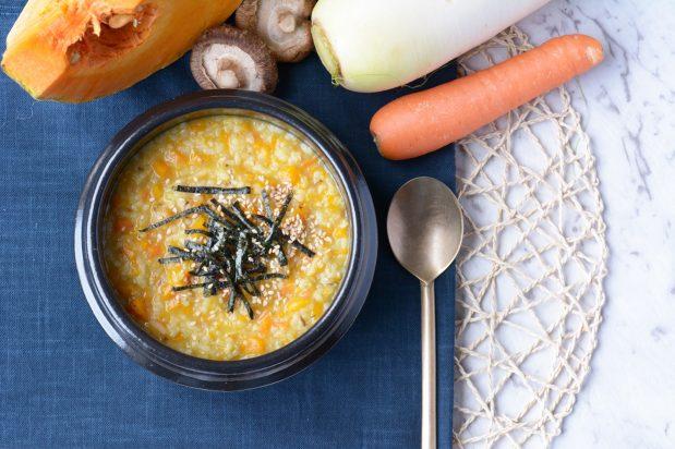 Korean Vegetable Porridge (Yachaejuk)