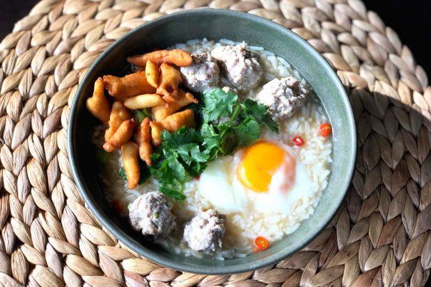 Thai Rice Soup (Khao Tom)