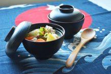 Japanese Pork and Vegetables Miso Soup (Tonjiru)