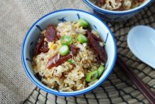 Simple Chinese Sausage Rice