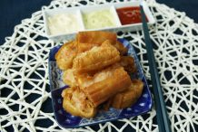 Deep Fried Chinese Crullers with Prawns