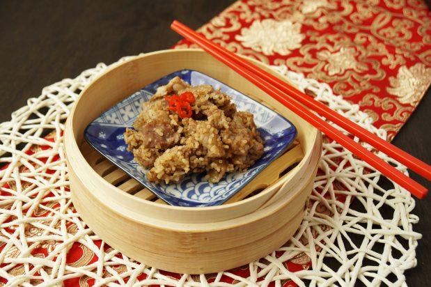 Steamed Pork with Rice Powder (Fen Zheng Rou)